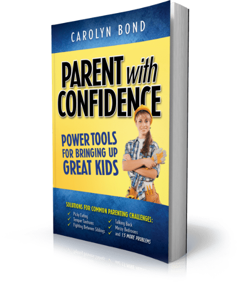 Parent With Confidence Ebook Cover Graphic
