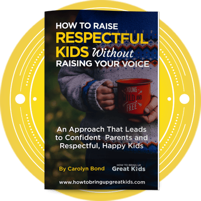 How To Raise Respectful Kids Without Raising your Voice Ebook cover